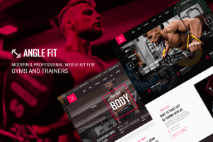 Angel Fit – A Web Kit for Gyms or Trainers