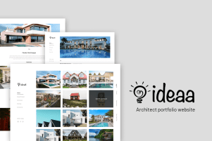 Ideaa | architecture website design