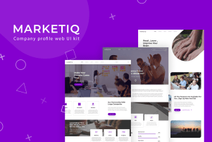 MarketIQ - Company Website Kit