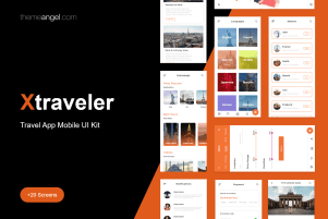 XTraveler | Travel Mobile App