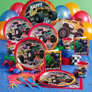 monster jam birthday party theme a party