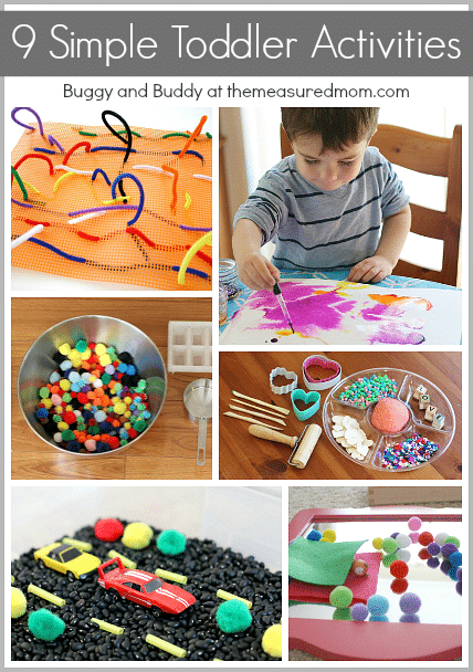 9 Simple Toddler Activities (guest Post)  The Measured Mom