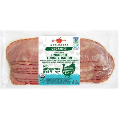 Applegate, Organic Uncured Turkey Bacon