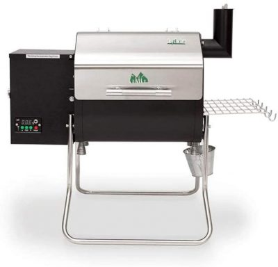 Green Mountain Grills Davy Crockett WiFi Controlled Portable Wood Pellet Grill