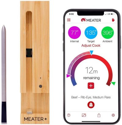 MEATER+165ft Long Range Smart Wireless Meat Thermometer
