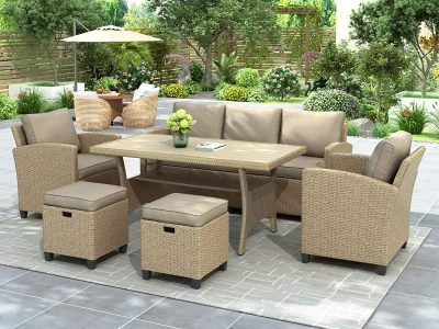 Merax 6-Piece Patio Furniture Set