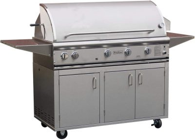 ProFire Professional Deluxe Series 48-Inch Built-In Infrared Hybrid Natural Gas Grill