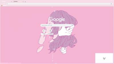 aesthetic pink chrome themes themebeta tears