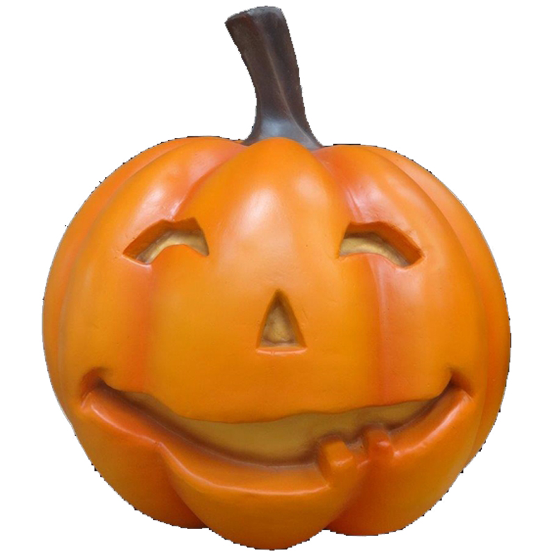 pumpkin with smiley face