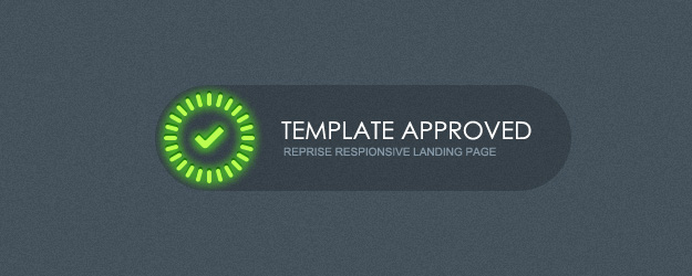Landing Page Template Approved