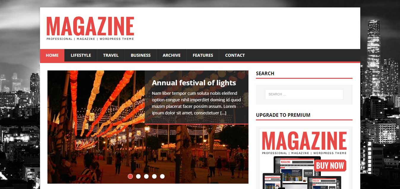 MH Magazine lite - Stylish Free WordPress Theme