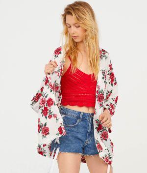 Short Kimono back