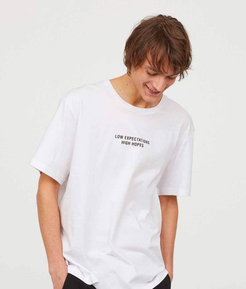 Printed t-shirt front