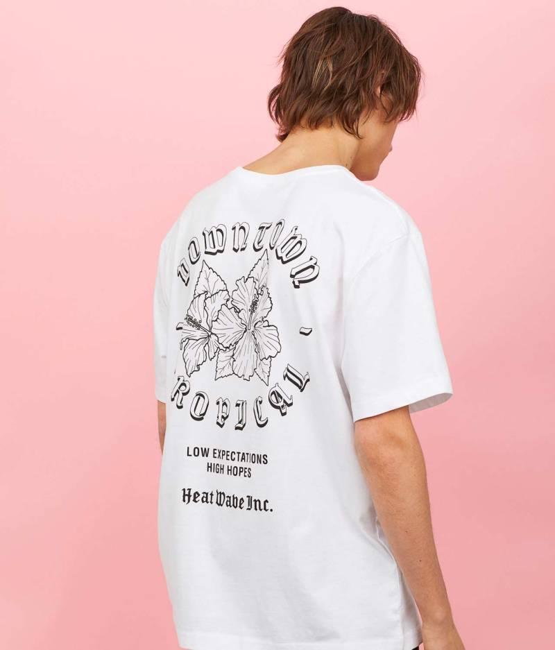 Printed t-shirt back