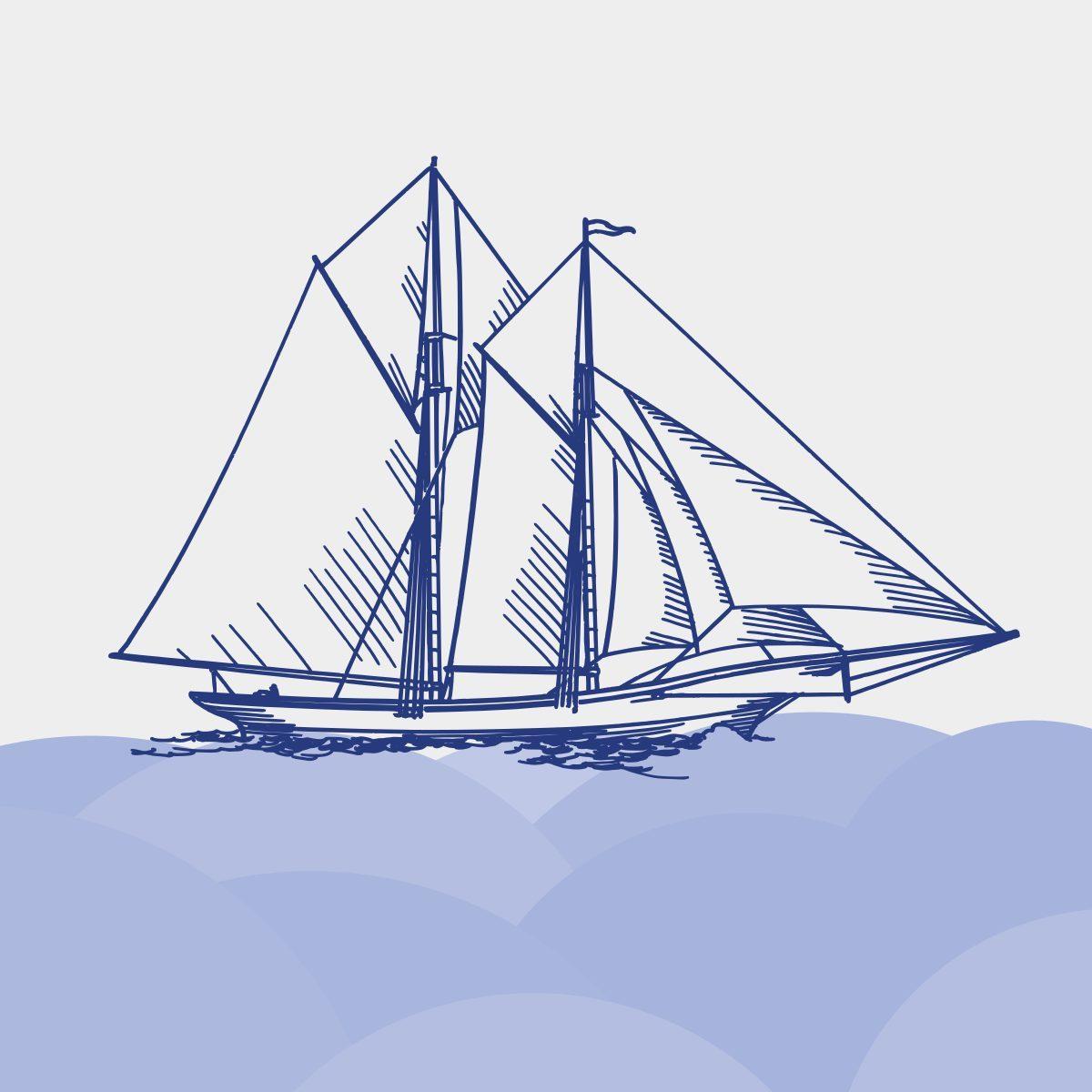 Boat illustration 1