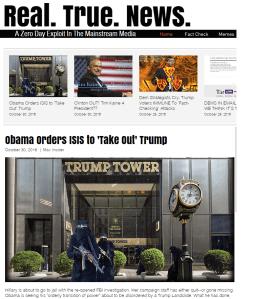Главная страница RealTrueNews