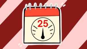 Двадцать пятое число. Иллюстрация Александры Амзиной