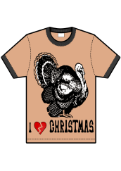 i hate christmas t-shirt