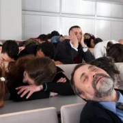 sleeping-audience