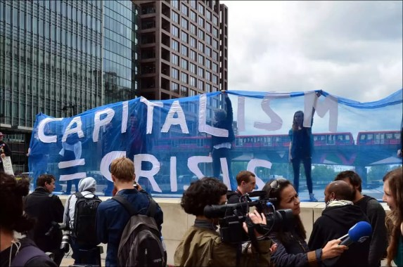 Trump banned capitalism crisis