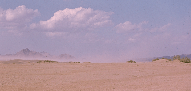 Moving Dust in Yazd