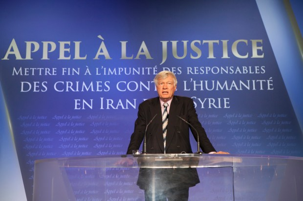 Paris: Calls for Justice in Iran and Syria