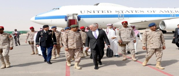 Mattis Visits Saudi Arabia, Promises to End Iranian Houthi Rockets