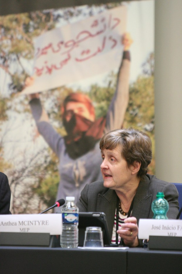 Strasbourg, France, Members of European Parliament, insisted the Iranian regime must be put on notice for violations of Human Rights