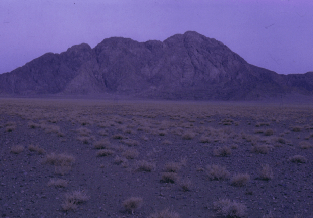 A devasted Range in Yazd
