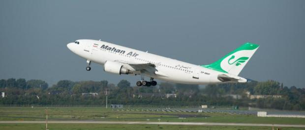 Germany banned Iranian airline on security