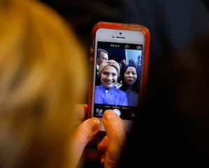 Candidates control their own social media. What message are they sending?