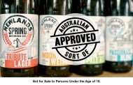Aussies endorse South African beer? Never!
