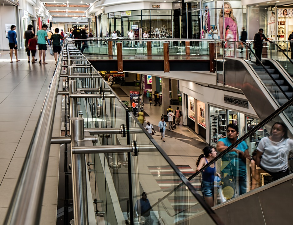 Will online shopping be the death of the mall?