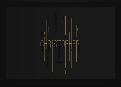 Christopher, a revolutionary marketing solution