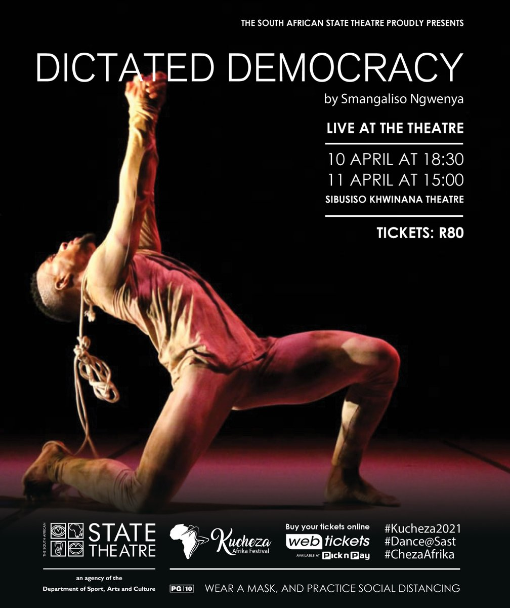 In closing: State Theatre brings The Encounter, The Magnificent 7 and Dictated Democracy to Kucheza Afrika Festival