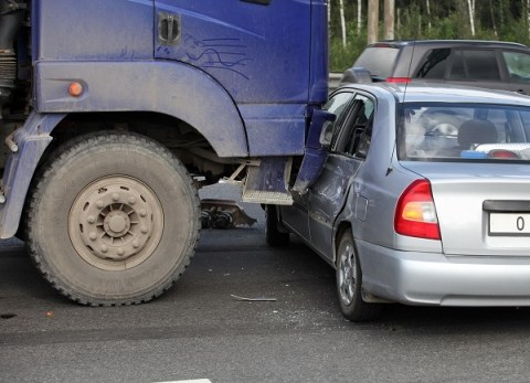 Truck Overturns