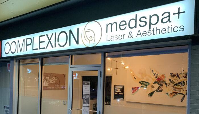 Port Hope Complexion MedSpa and Aesthetics Storefront Exterior