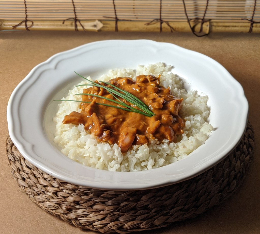 Thermomix Chicken curry