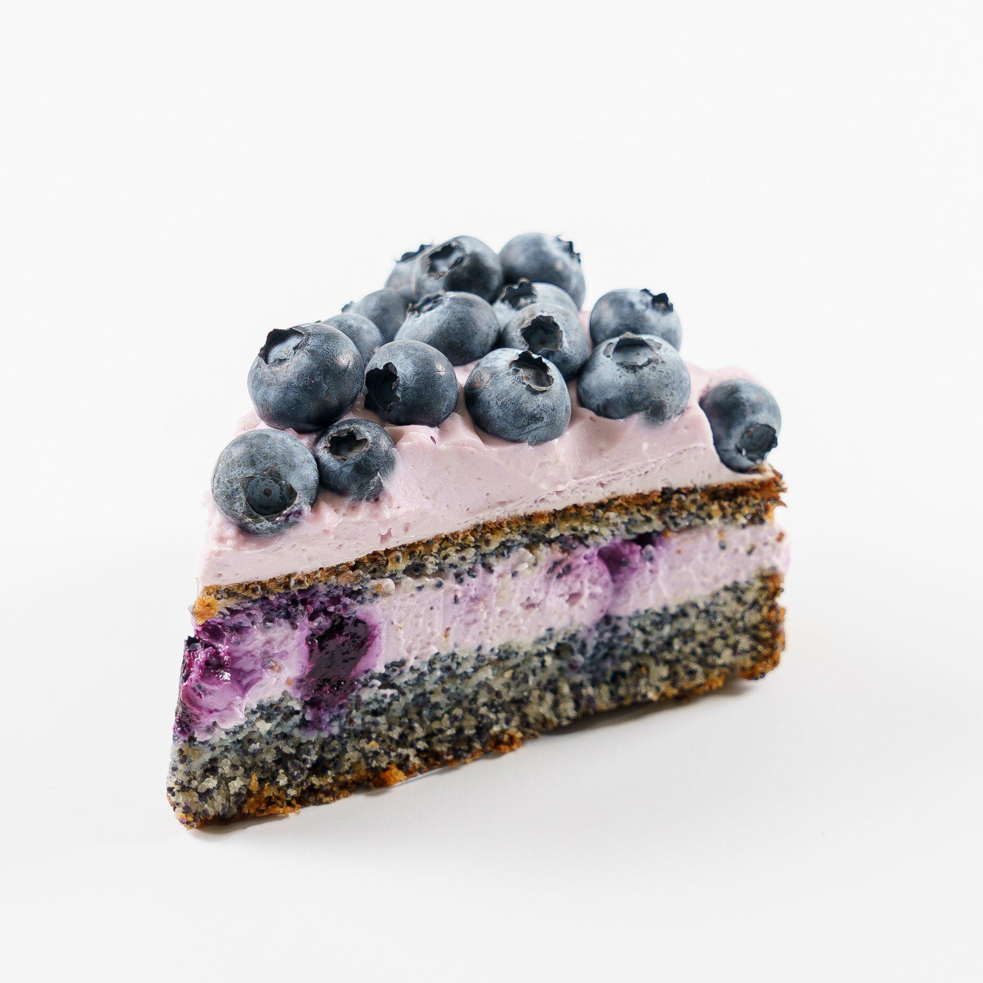 Торт «Маково-черничный» (165г)