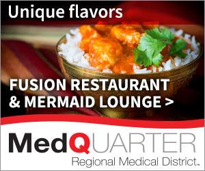 Fusion restaurant & mermaid lounge
