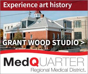 Grant wood studio
