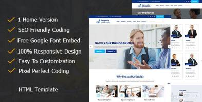Corponix - Corporate & Business Responsive Template