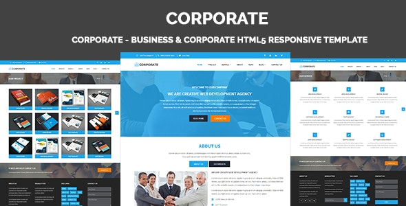 Corporate - Business & Corporate HTML5 Responsive Template