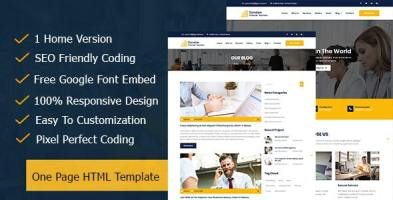 Sonstan || Corporate & Business One Page HTML5 Template