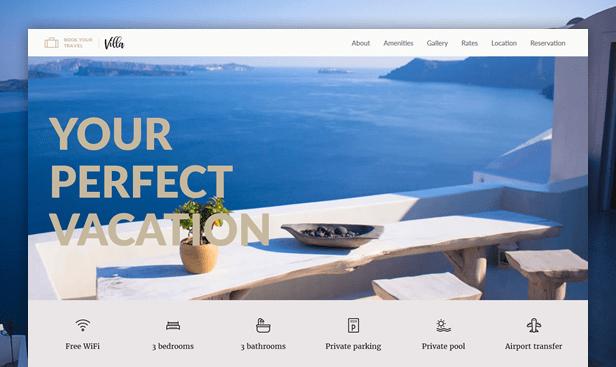 Villa WordPress Theme