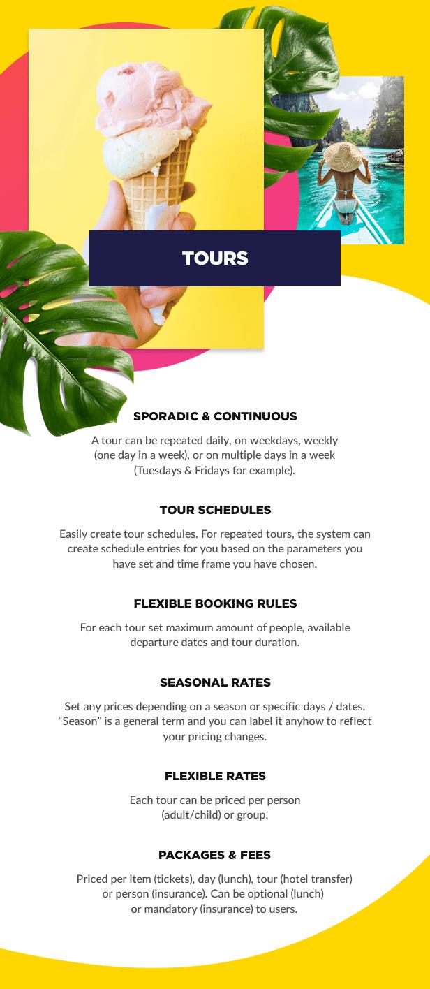 Tour booking