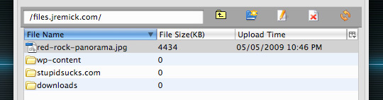 S3Fox files