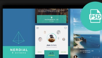 50+ Best Sketch UI Kits & Templates 2017