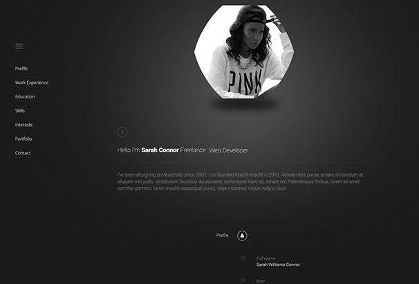 Resume Websites Examples Free Resume Cv Template For Modern Look  Resume Websites Examples