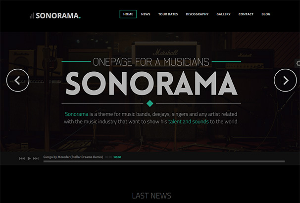 themeforest 17 Sonorama